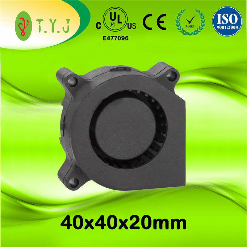 Mini DC Axial Cooling Fan Blower 12v Size 40X40X20mm with Hydro
