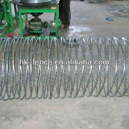 Spiral Razor Blade Barbed Wire ( Factory )