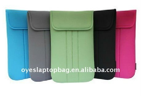 clamshell neoprene carrying case for ipad or ipad2