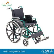 cheap price economy portable hospital used manual wheelchair