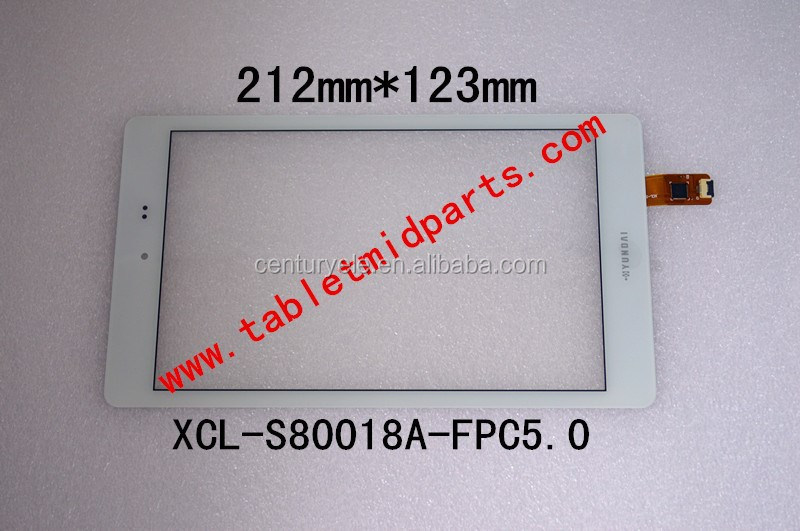 8.0 inch Tablet touch screen XCL-S80018A-FPC5.0 for HYUNDAI
