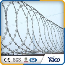 Factory price Razor wire with clips(13 years)
