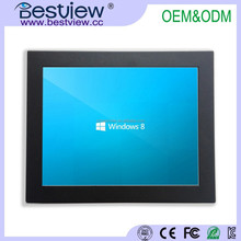 10 Inch cheap resistive/capacitive touch screen monitor low price With High resolution 1024x768