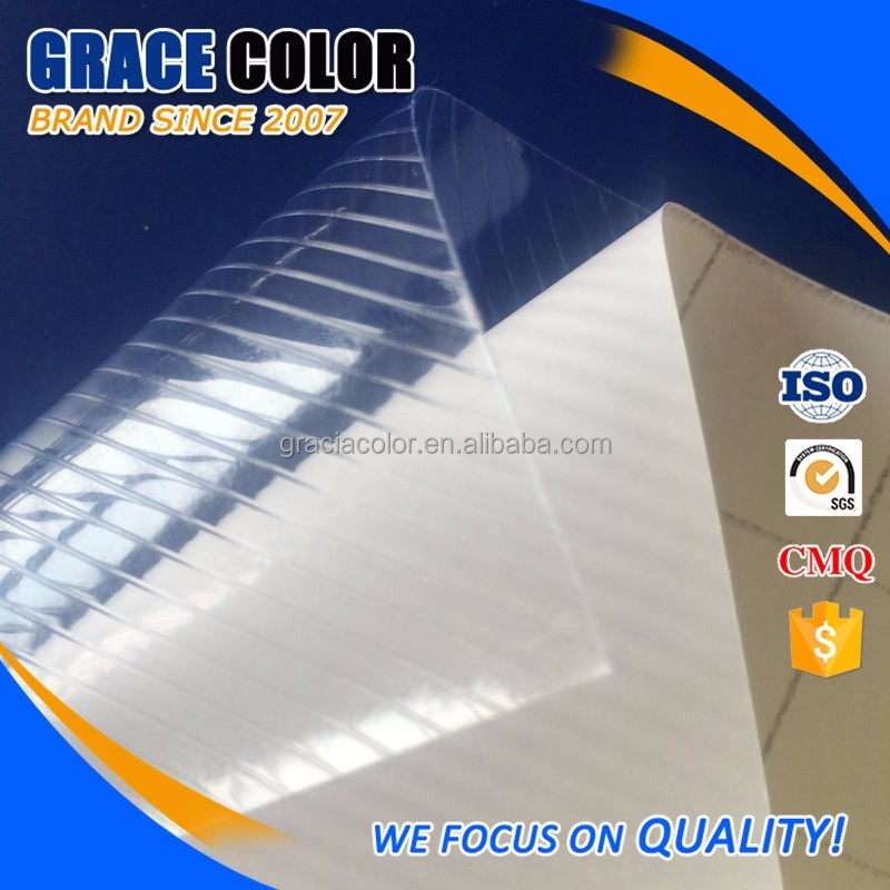 Top Quality white backing paper PVC Cold lamination Film