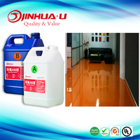 DIY Cheap Price Two Part Clear Epoxy Floor Coating With Powders Free Sample