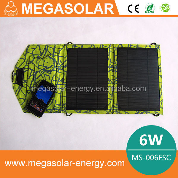 Universal Flexible Monocrystalline Solar Battery Charger for Cell Phone, Digital Camera, MP3, MP5, PSP,laptop