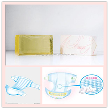 Adult diapers elastic side tape bonding hot melt adhesive, waist line elastic tape bonding glue