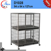 Good after-sales service galvanized dog cage