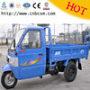 New arrival low consumption China agricultural products three wheeler with cabin for sale