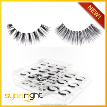 red lashes human hair eyelashes with private label boxes