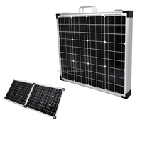 120W foldable solar panel 12V 200W Folding Solar Panel Kit Caravan Boat Camping Power Mono Charging Home