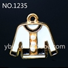 wholesale fashion micro pave cz 925 silver fashion letter v pendant jewelry -1235