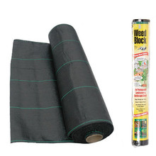 Chinese supplier pp woven / rubber tree weed control mat for ground cover