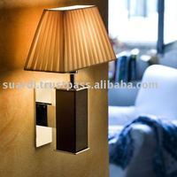 Brass Wall Light With Reading LED