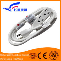 6th years alibaba manufacture white outdoor extension cord