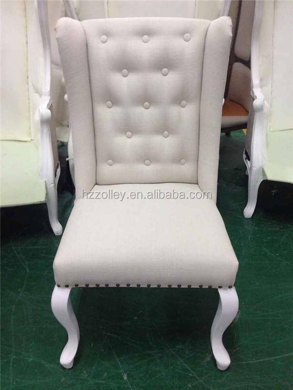 vintage wohnzimmer m bel hohe r ckenlehne st hle wei en thron stuhl hochzeit m bel ohrensessel. Black Bedroom Furniture Sets. Home Design Ideas