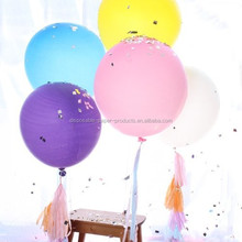 Plain/Solid Latex Balloons 36inch Giant Balloons Huge Jumbo Big Giant Clear Latex Balloons for party wedding decoration