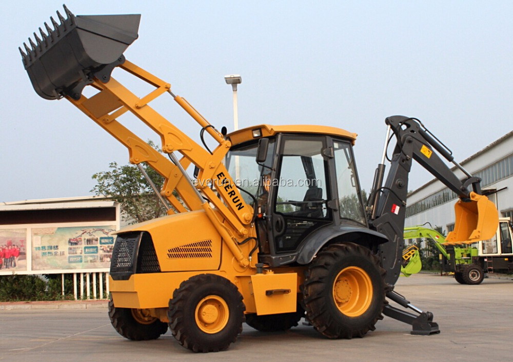 2016 EVERUN 8ton backhoe loader hot sale