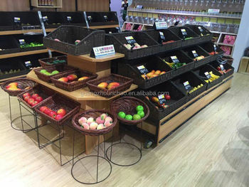 supermarket vegetable rack/fruit stand with good quality for sale