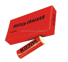 2017 Happy Fireworks K0208 Consumer Fireworks Match Cracker Firecracker Big Banger with smoke super loud Toy Fireworks For Kids
