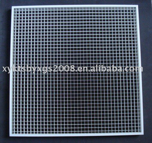 Eggcrate grille for central air condition system