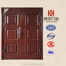 High quality composite commercial double steel door