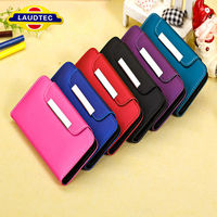 2014 hot selling wallet leather case for iPhone 5 c for iPhone 5c handbag cover case