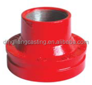 FM/UL approved Flange Adaptor Ductile Iron Grooved Pipe Fittings and Coupling