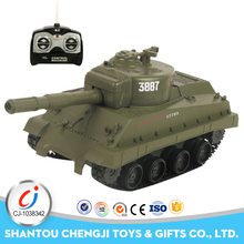 2017 Popular novel simulation cool battle fighting t90 rc tank