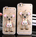 Diamond bling bling case for iPhone 6 6 Plus, dancer rhinestone case for iPhone 7 7 Plus