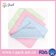 disposable cotton microfiber cleaning cloth wipping car or glasses