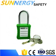 "Stainless Steel 1"" and 1.5"" Safety Lockout Hasp Safety padlock"