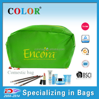 Best price small pp non woven green coin purse with zippr