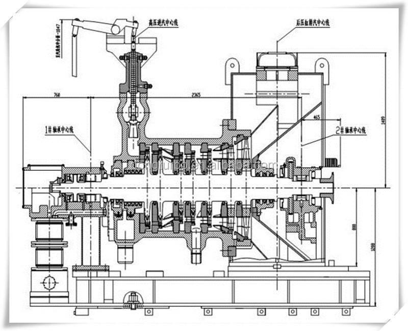 mini biomass power plant steam turbine