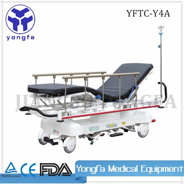 YFTC-Y4A Best Quality Operated By Gas Spring hospital stretcher prices