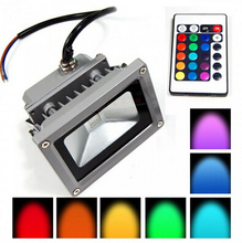 Sale Waterproof 10w RGB Outdoor LED Flood Light Colour Changing Spot Light Lamp