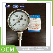 Thickness Manifold Gauge Hot Water Temperature Gauge
