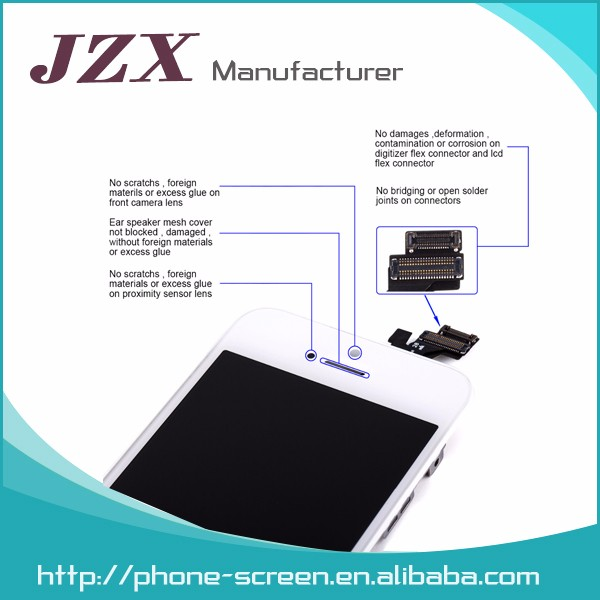 Mobile phone lcd for iphone 5c lcd with digitizer , for iphone 5c lcd assembly , for iphone 5c lcd screen shenzhen supplier
