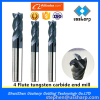 Solid carbide plain milling cutter/Flat milling cutter