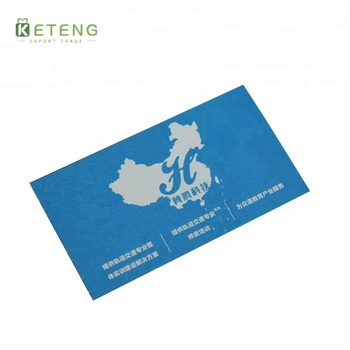 Customized design square coated paper film lamination printing paper business card