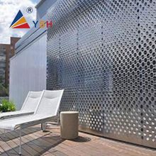 Stainless steel perforated decorative metal meshes plate