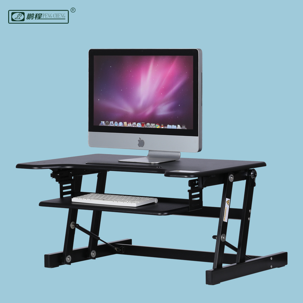 PCS410 Factory Price Healthy Office Interior Design Foldable Sit Standing Desk