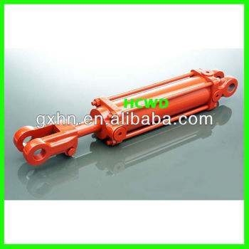 hydraulic cylinder with clevis mounting
