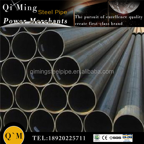 black steel round pipe and tubes with nuts/bolts