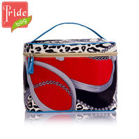 Women Tool Box Cosmetic Train Case Makeup Bag Beauty Box Vanity Case