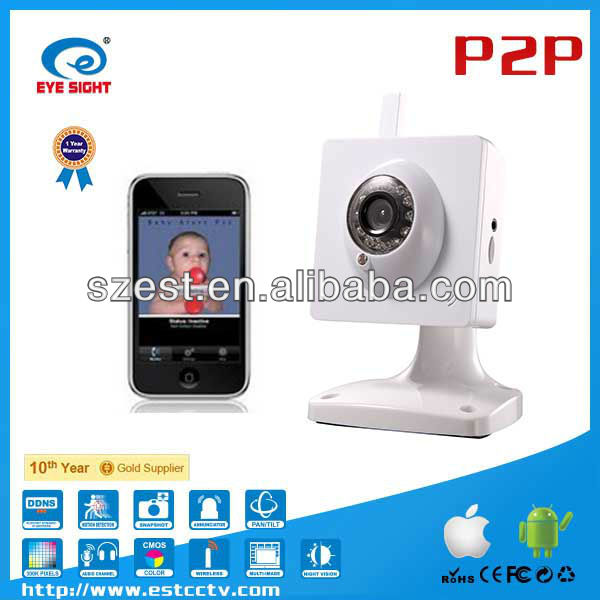 hottest product wifi-friendly baby monitor with vivid image for iphone app