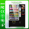10 Aisles spring coils soda vending machine/snack and drink coffee vending machine