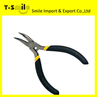 Long Nose Pliers Carbon Steel Utility Curved Nose Pliers Needle Nose Pliers Function