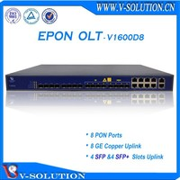 8 pon ports olt optical line terminal equipment with 8 sfp