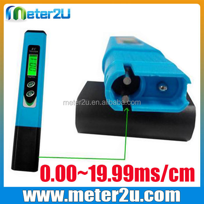 Professional digital ph ec meter with cheap price/water flow sensors